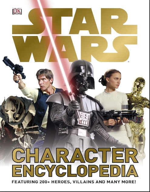 Two hundred plus characters included in this Star Wars picture book, including heroes, villains, and robots