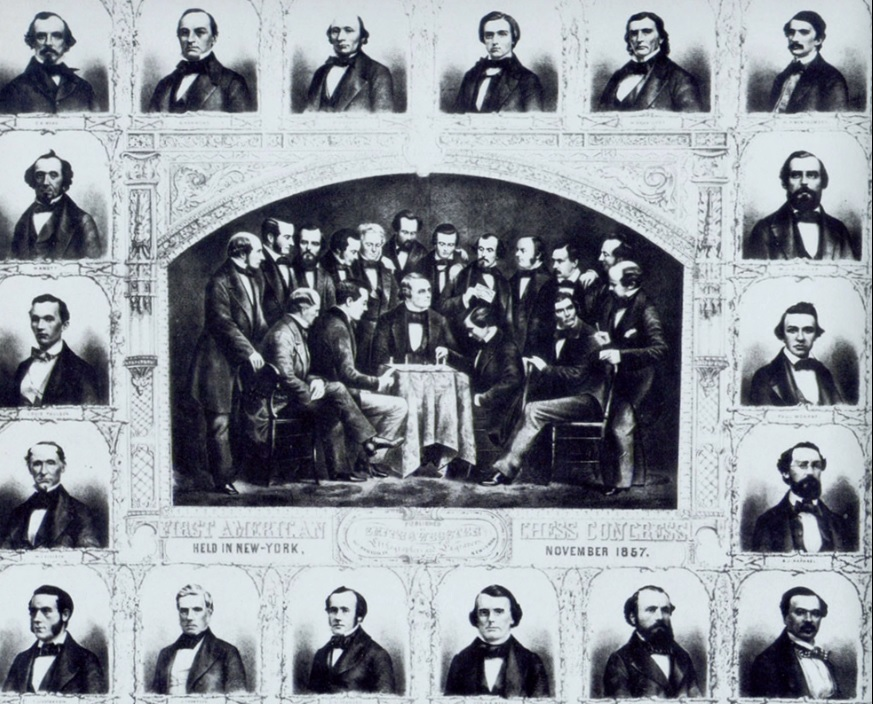 chess tournament in 1857