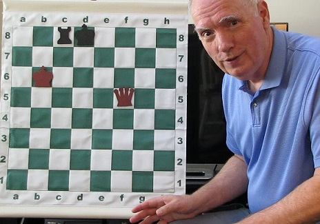 Chess tutor Jonathan Whitcomb in Utah